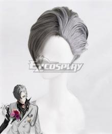 Caligula Satake Shogo Black Grey Cosplay Wig