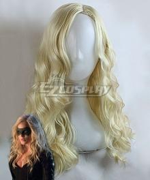 DC Comics Green Arrow Black Canary Dinah Laurel Lance Light Golden Cosplay Wig