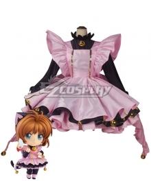 Cardcaptor Sakura: Clear Card Sakura Kinomoto Black Cat Cosplay Costume