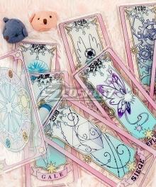 Cardcaptor Sakura: Clear Card Sakura Kinomoto Card Cosplay Accessory Prop