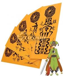 Cardcaptor Sakura: Clear Card Syaoran Li Ofuda Cosplay Accessory Prop