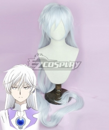 Cardcaptor Sakura: Clear Card Yue Silver White Cosplay Wig