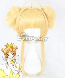 Cardcaptor Sakura Opening 2 Sakura Kinomoto Golden Cosplay Wig