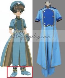 Cardcaptor Sakura Syaoran Li The Sealed Card Blue Cosplay Shoes