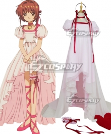 Cardcaptor Sakura: The Movie 2 Sealed Card Sakura Kinomoto Cosplay Costume
