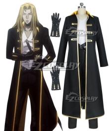 Castlevania Season 2 2018 Anime Alucard Cosplay Costume