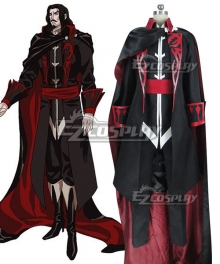 Castlevania Season 2 2018 Anime Dracula Cosplay Costume