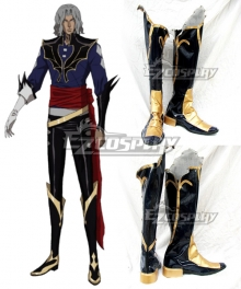 Castlevania 3 Netflix 2020 Anime Vampire Dracula Black Shoes Cosplay Boots