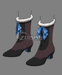 Castlevania Season 3 Netflix 2020 Anime Lenore Black Brown Shoes Cosplay Boots