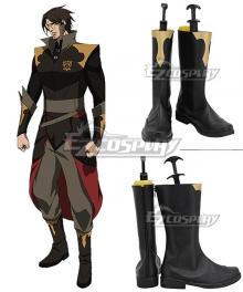 Castlevania Season 3 Netflix 2020 Anime Trevor Belmont Black Shoes Cosplay Boots