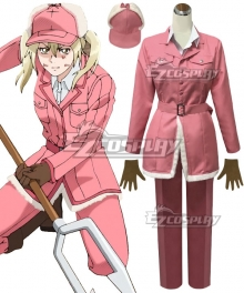 Cells At Work Hataraku Saibo Eosinophil Cosplay Costume