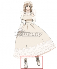 Cells At Work Macrophage White Cosplay Shoes