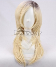 Child's Play Bride of Chucky Halloween Tiffany Valentine Golden Black Cosplay Wig