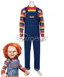 Child's Play Halloween Buddi Chucky Cosplay Costume