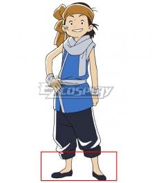 Chuka Ichiban! Shiro Black Cosplay Shoes