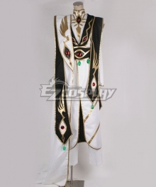 Code Geass Emperor Lelouch vi Britannia Black Cosplay Costume