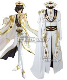 Code Geass Lelouch King Wear Cosplay Costume