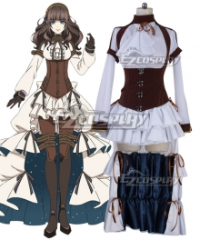 Code: Realize Guardian Of Rebirth Cardia Beckford Cosplay Costume - A Edition
