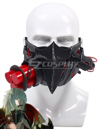 Code Vein Jack Rutherford Mask Cosplay Weapon Prop