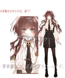 Collar × Malice Ichika Hoshino Cosplay Costume