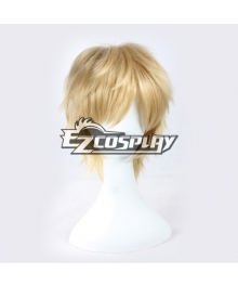Mekakucity actors Kagerou ProjectKano Short Blonde Straight Anime Cosplay Wig--338F