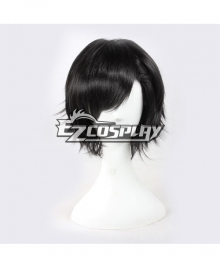 MekakuCity Actors Kagerou Project Seto Kosuke Short Black Cosplay  Wigs--338G