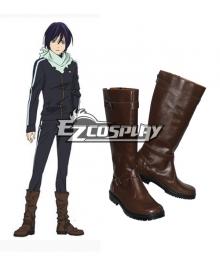 Noragami Yato brown Cosplay Shoes