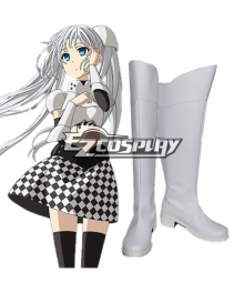Miss Monochrome Cosplay Shoes