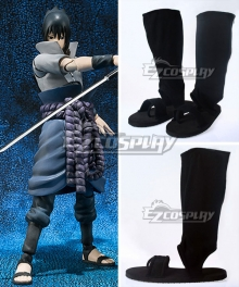 Naruto Shippuuden Team Taka Hawk Sasuke Uchiha Cosplay Shoes