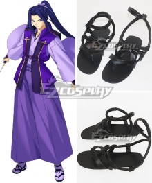 Fate Stay Night Unlimited Blade Works UBW Kojirou Sasaki Assassin New Sword Flat Boots Cosplay Shoes