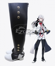 Seraph of the End Owari no Serafu Vampire Ferid Bathory Ferido Batori Black Shoes Cosplay Boots