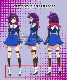 Concrete Revolutio Konkuriito Reborutio Choujin Gensou Hoshino Kikko White Cosplay Boots