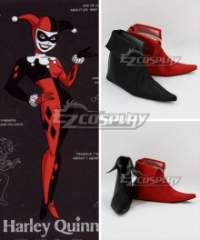 DC Comics Batman Arkham Asylum Harley Quinn Joker Cosplay Shoes