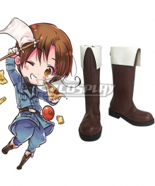 APH Hetalia: Axis Powers Feliciano Vargas Italy Veneziano Boots Cosplay Shoes