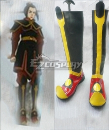 Avatar The Last Airbender Azura Black Cosplay Boots