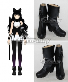 RWBY Team RWBY Blake Belladonna Black Shoes Cosplay Boots