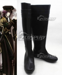 K Return Of Kings Mishakuji Yukari Black Cosplay Boots