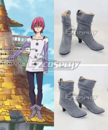 The Seven Deadly Sins Nanatsu no Taizai Gowther Goat's Sin Gray Cosplay Shoes