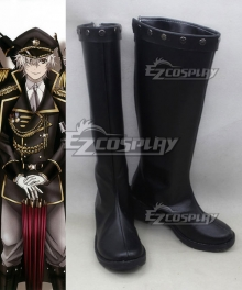 K Return Of Kings Isana Yashiro Black Shoes Cosplay Boots