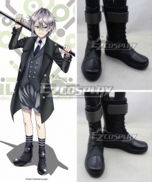K Return Of Kings Sukuna Gojou Black Cosplay Boots