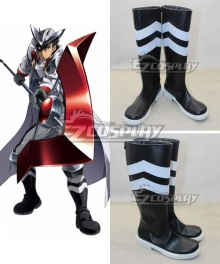 Akame Ga Kill! Bland Black Cosplay Boots