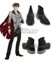 RWBY Qrow Branwen Black Cosplay Shoes - B Edition