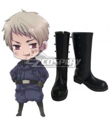 Axis Power Hetalia Prussia Gilbert Beilschmidt Cosplay Boots
