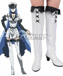 Akame ga KILL! Esdeath Boots Cosplay Shoes