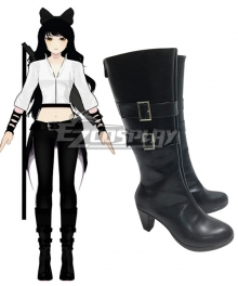 RWBY Season 2 Blake Belladonna Boots Cosplay Shoes