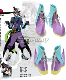 Divine Gate Loki Purple Cosplay Shoes
