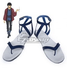 Dimension W Kyouma Mabuchi Blue Cosplay Shoes