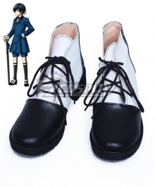 Black ButlerⅡ Ciel Phantomhive Black Cosplay Shoes