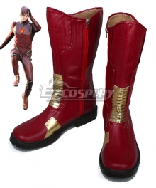 DC Comics The Flash Barry Allen Red Shoes Cosplay Boots - B Edition