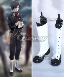 The Empire of Corpses Friday Noble Savage 007 White Shoes Cosplay Boots